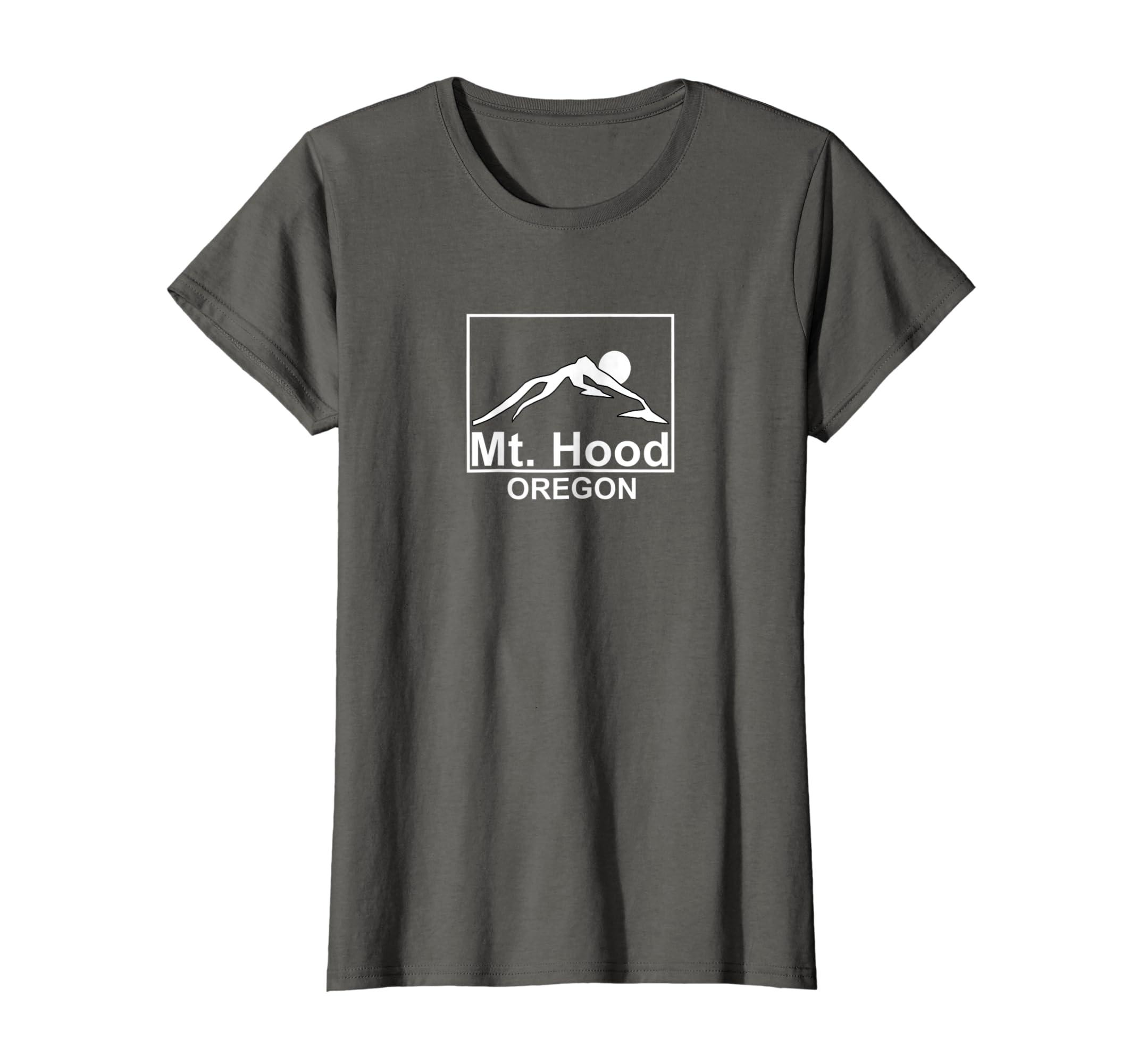 66adbde5ef0 Amazon.com  Mt Hood Oregon Mountain T-shirt  Clothing