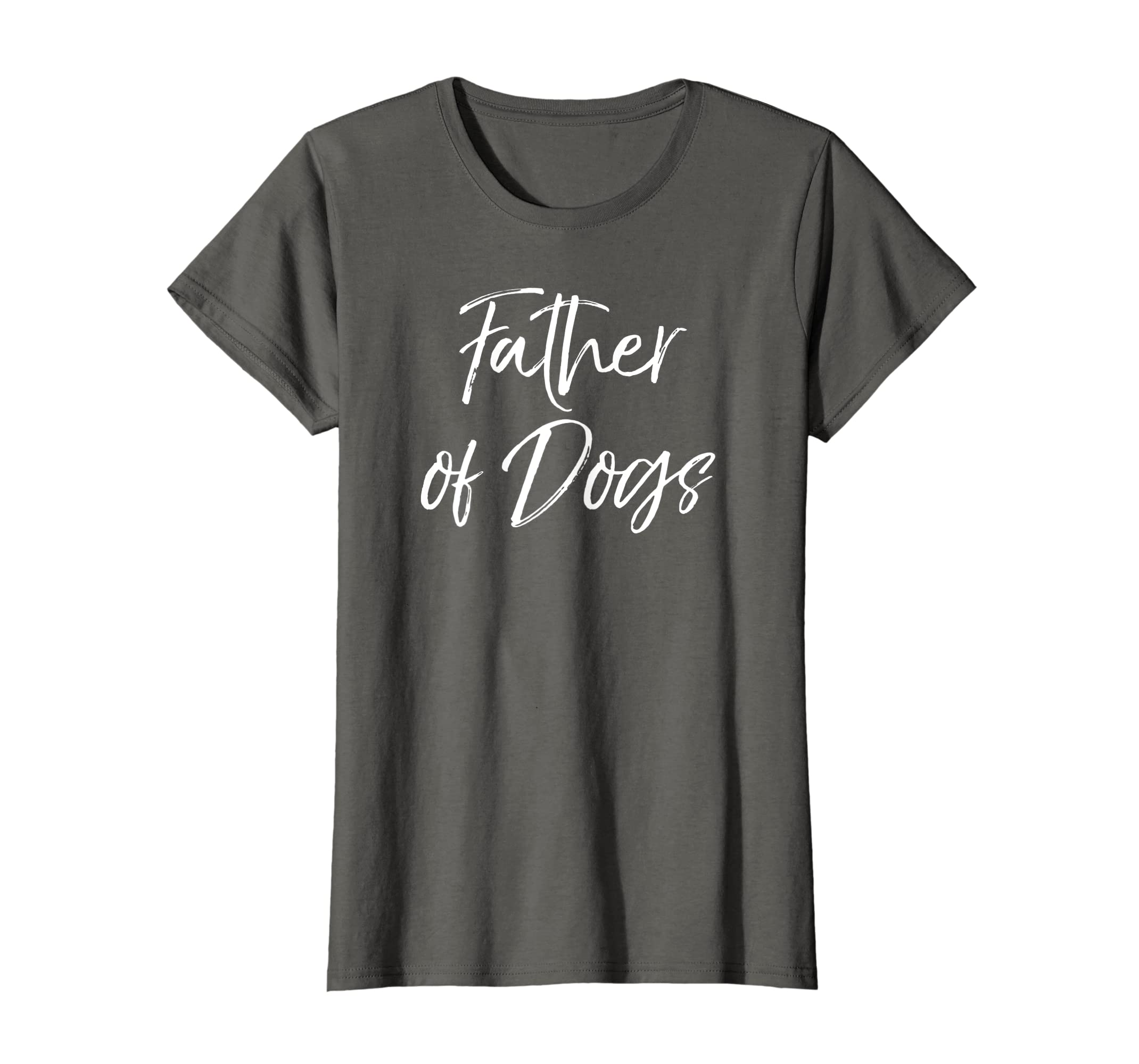 5981efba Amazon.com: Father of Dogs Shirt for Men Funny Dog Dad T-Shirt for Boys:  Clothing