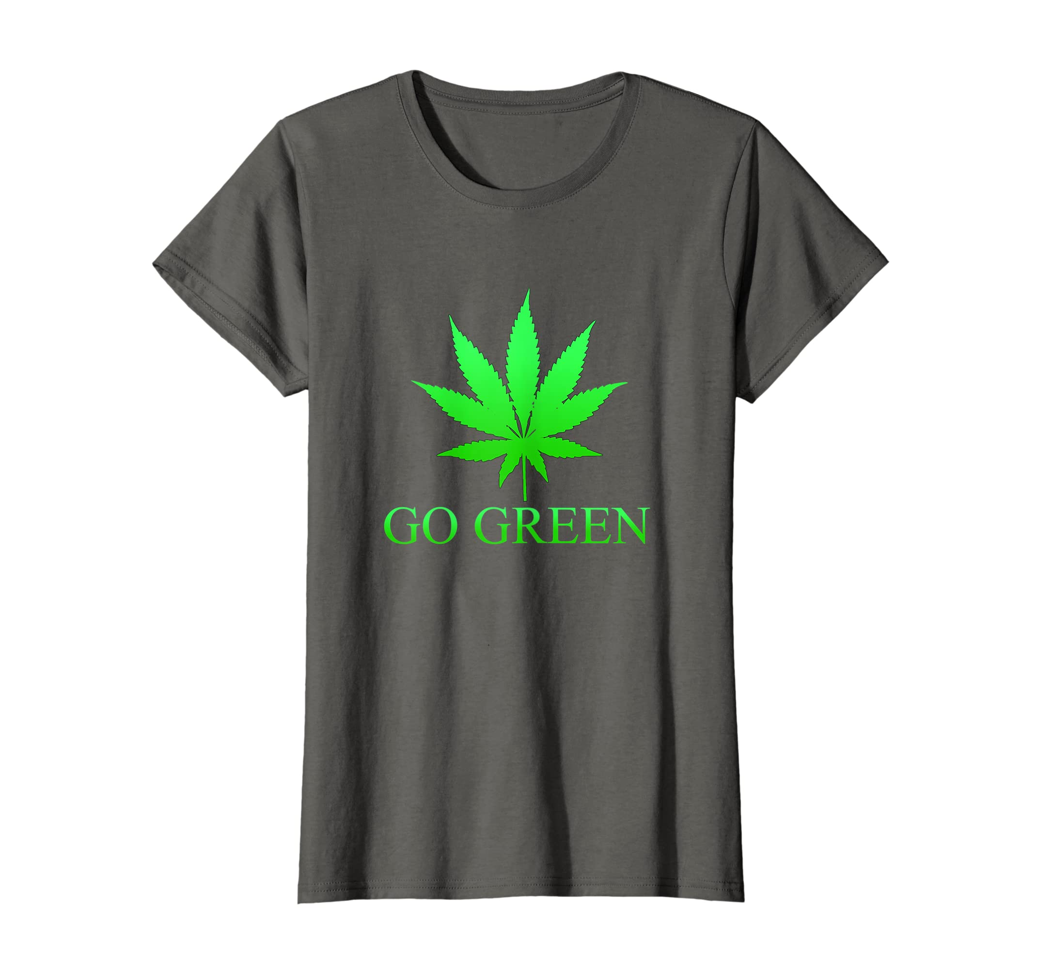 9991d3e93 Amazon.com: Go Green Weed T Shirt - Vape Nation - Marijuana Leaf 420:  Clothing