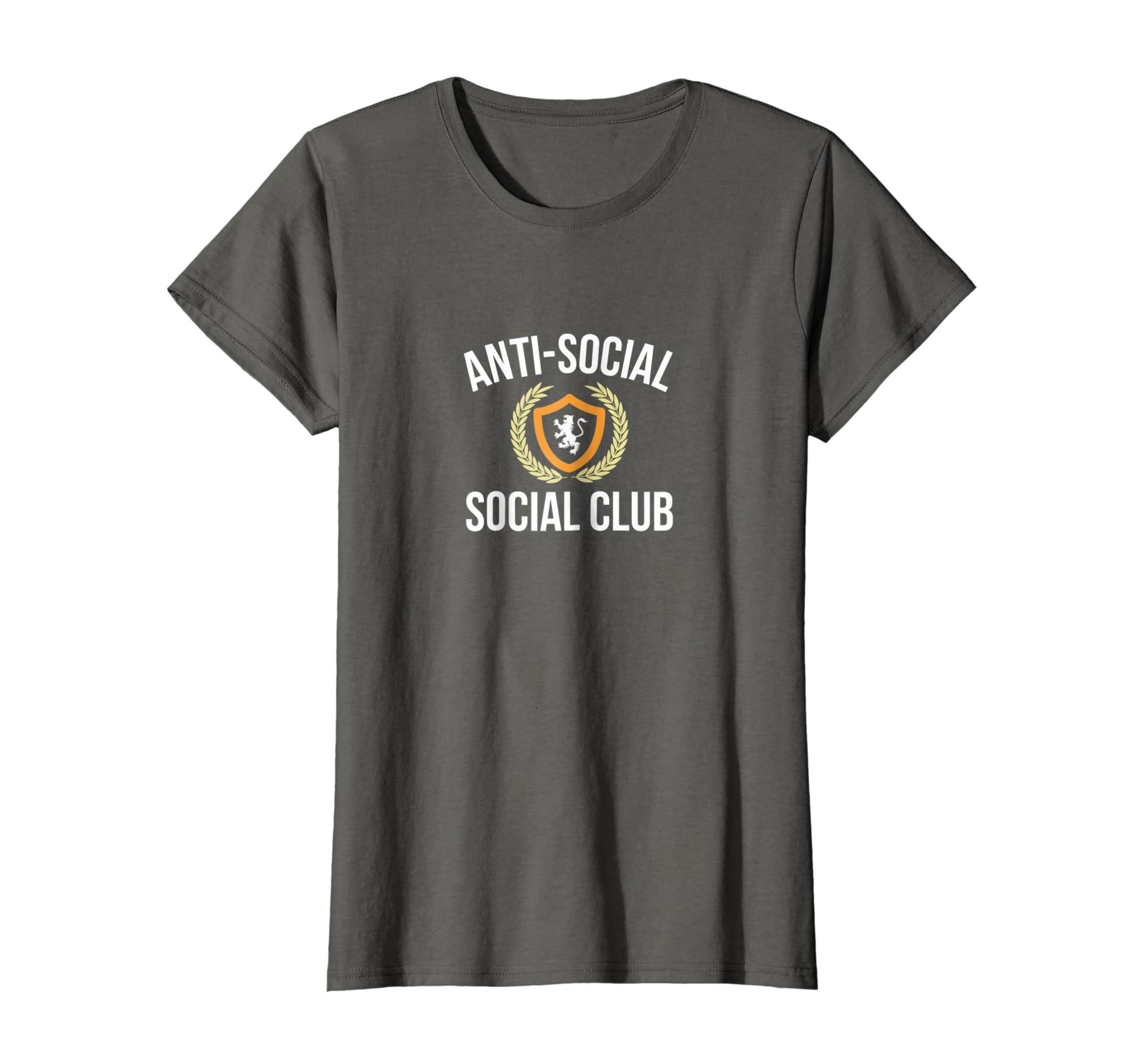 5ae766aebadb Amazon.com  Anti-Social - Social Club - T-shirt  Clothing