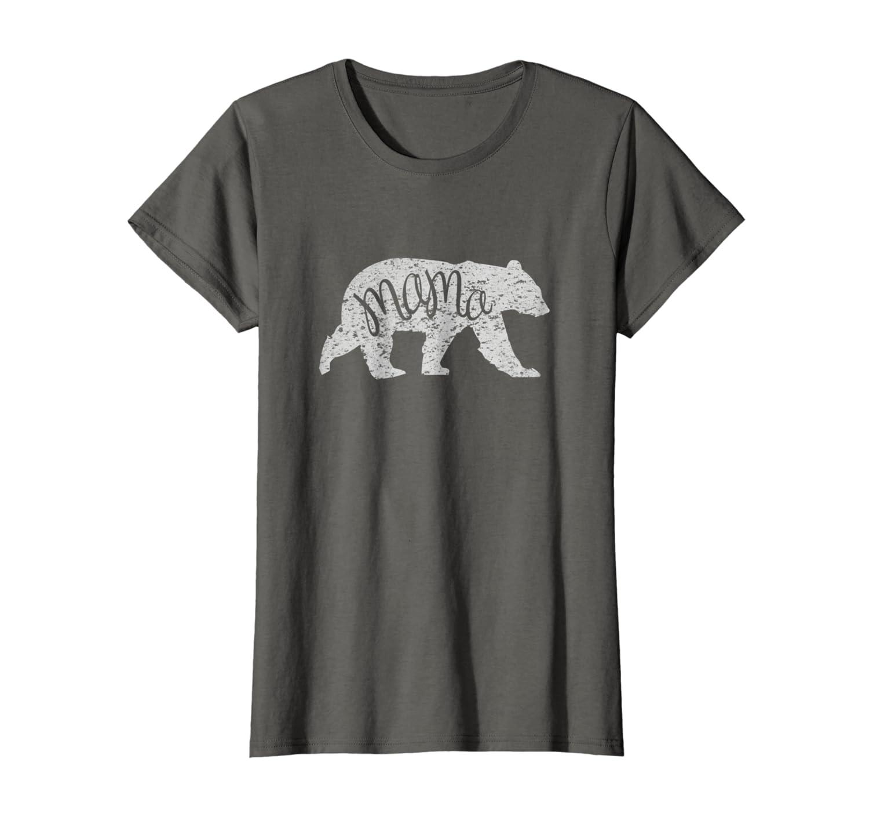 19f4dc90 Amazon.com: Womens Mama Bear Shirt Graphic Tee: Clothing