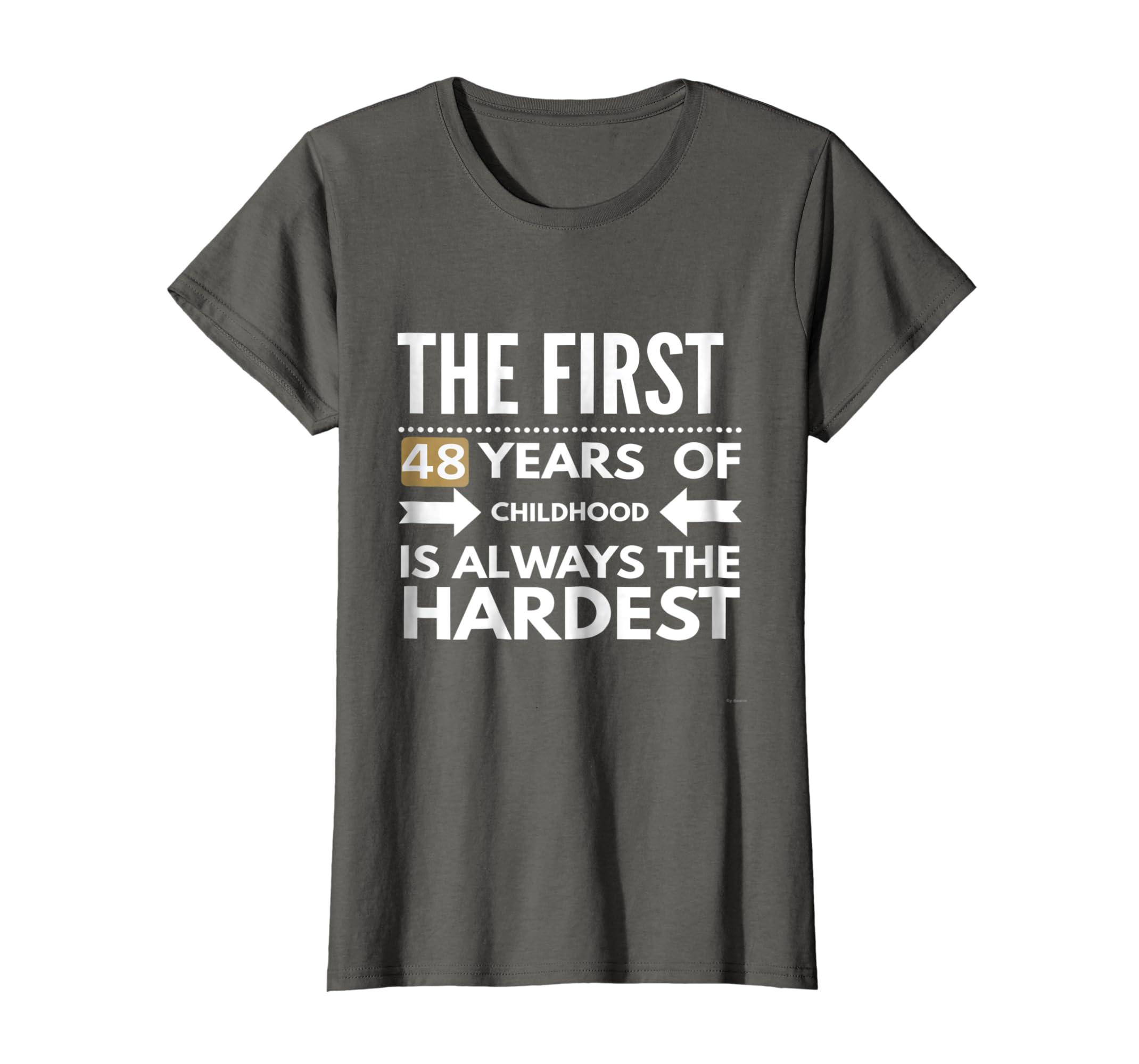 Amazon Funny 48th Birthday Shirt Gift For Clothing