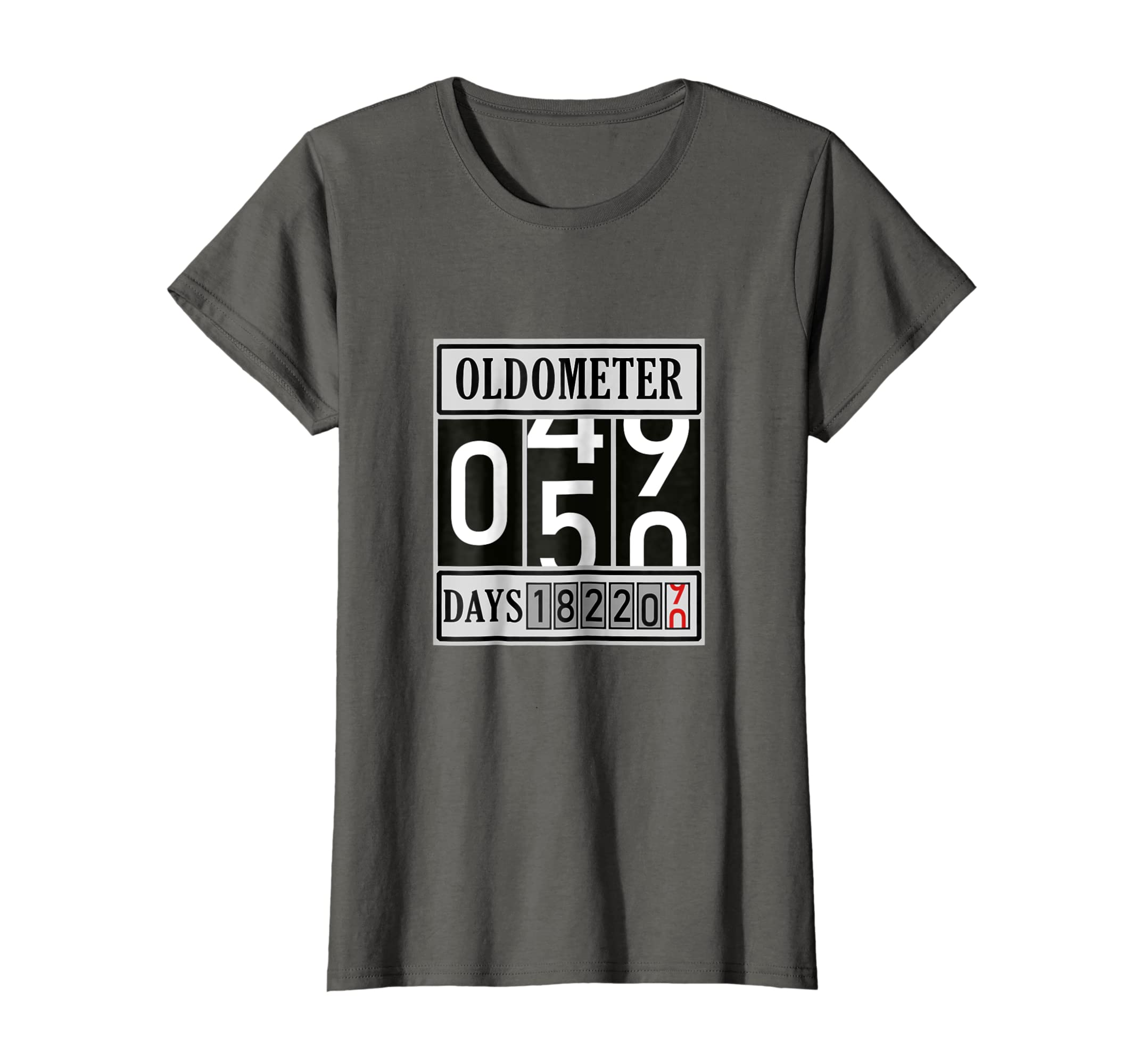 b51aca31 Amazon.com: OLDOMETER 50 Years Old T-Shirt Made In 1968 50th Birthday:  Clothing