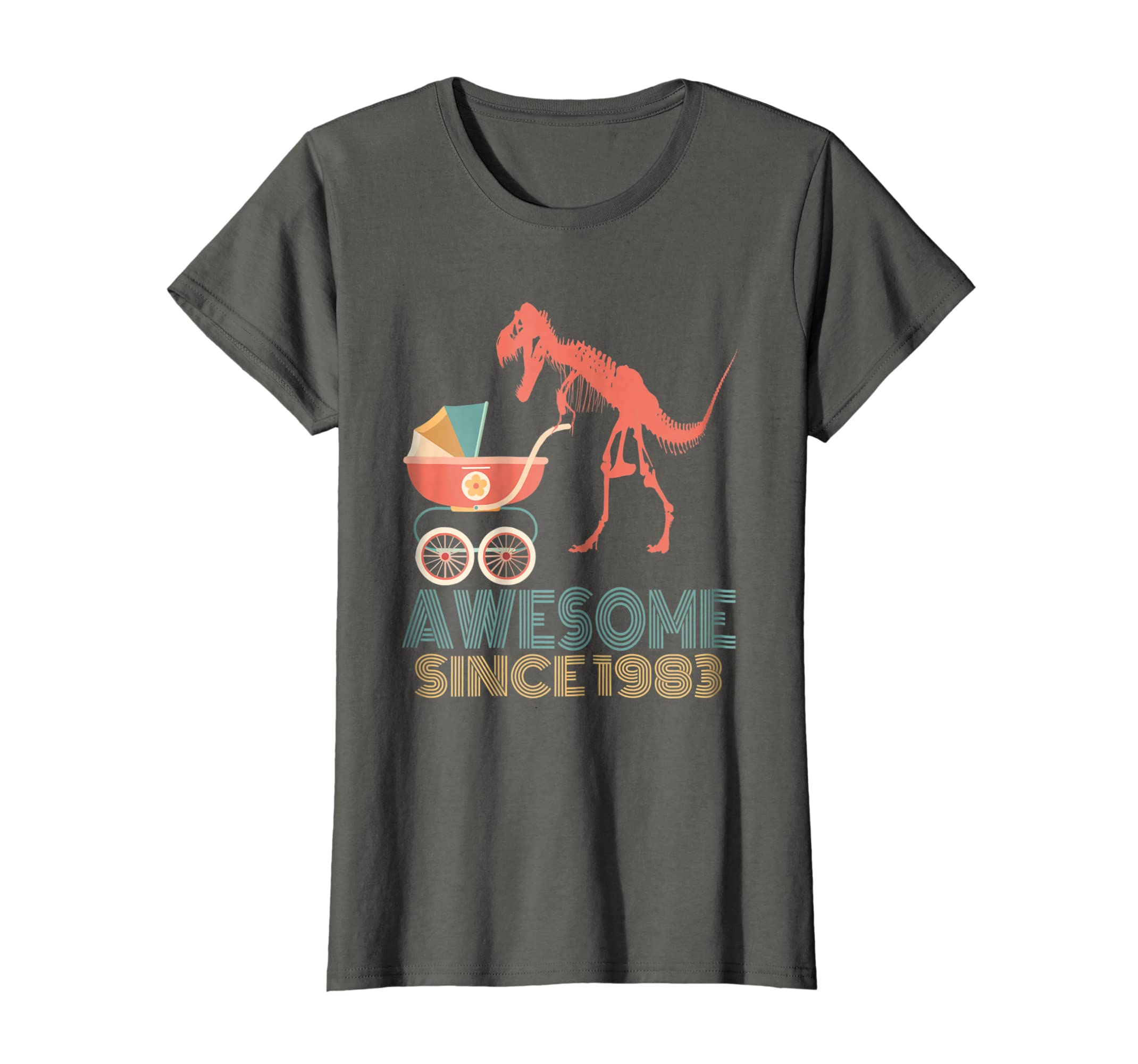 Amazon 35th Birthday Gift Shirt Dinosaur 35 Year Old Tshirt For Men Clothing