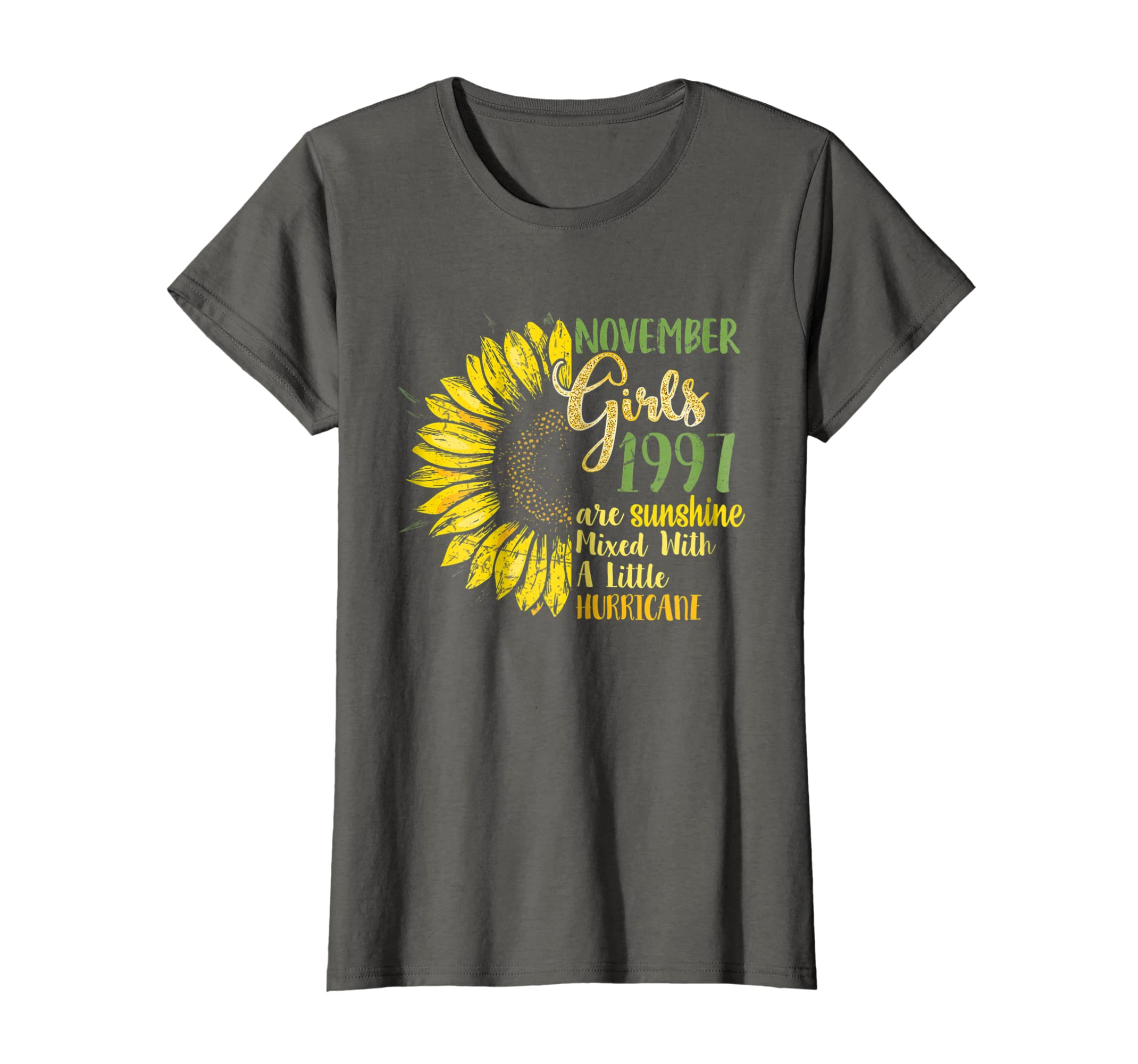 Amazon November Girls 1997 Shirt 21st Birthday Gifts Being Awesome Clothing