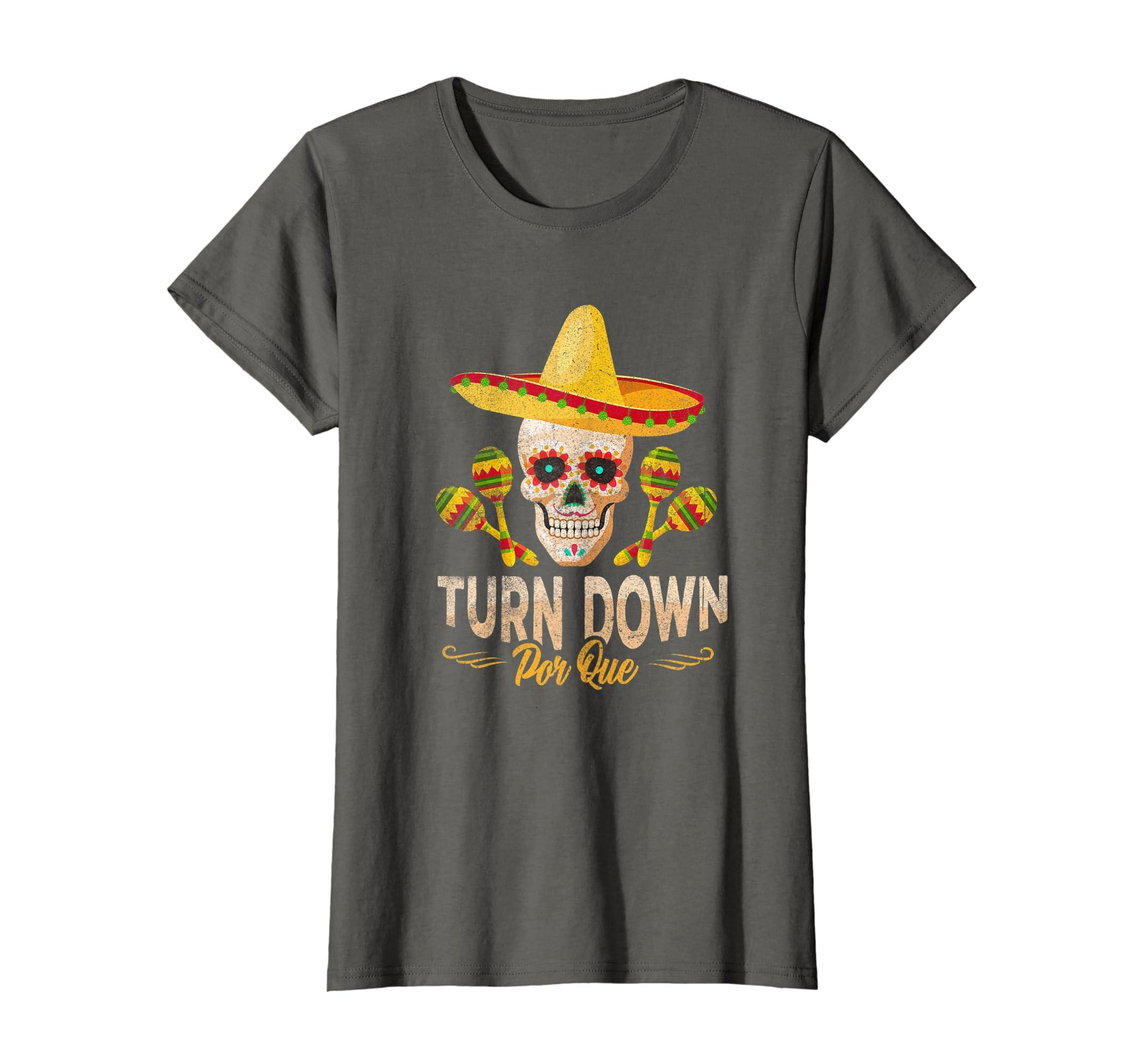 6ea308ab Amazon.com: Funny Turn Down Por Que Cinco de Mayo T-Shirt for Boys Kids:  Clothing