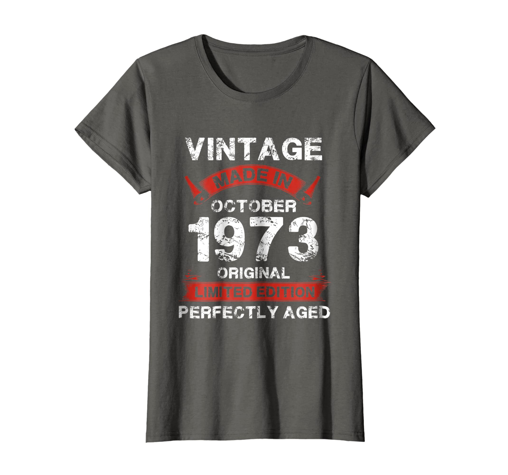 Amazon Vintage For October 1973 45th Years Old 45 Birthday Shirt Clothing