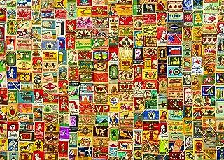 1000 Piece Puzzle for Adults: Vintage Matchboxes Jigsaw Puzzle