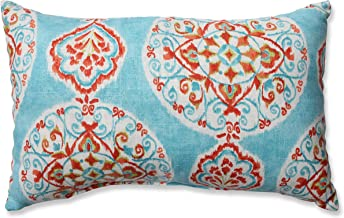 Pillow Perfect Rectangular Throw Pillow, Mirage Medallion
