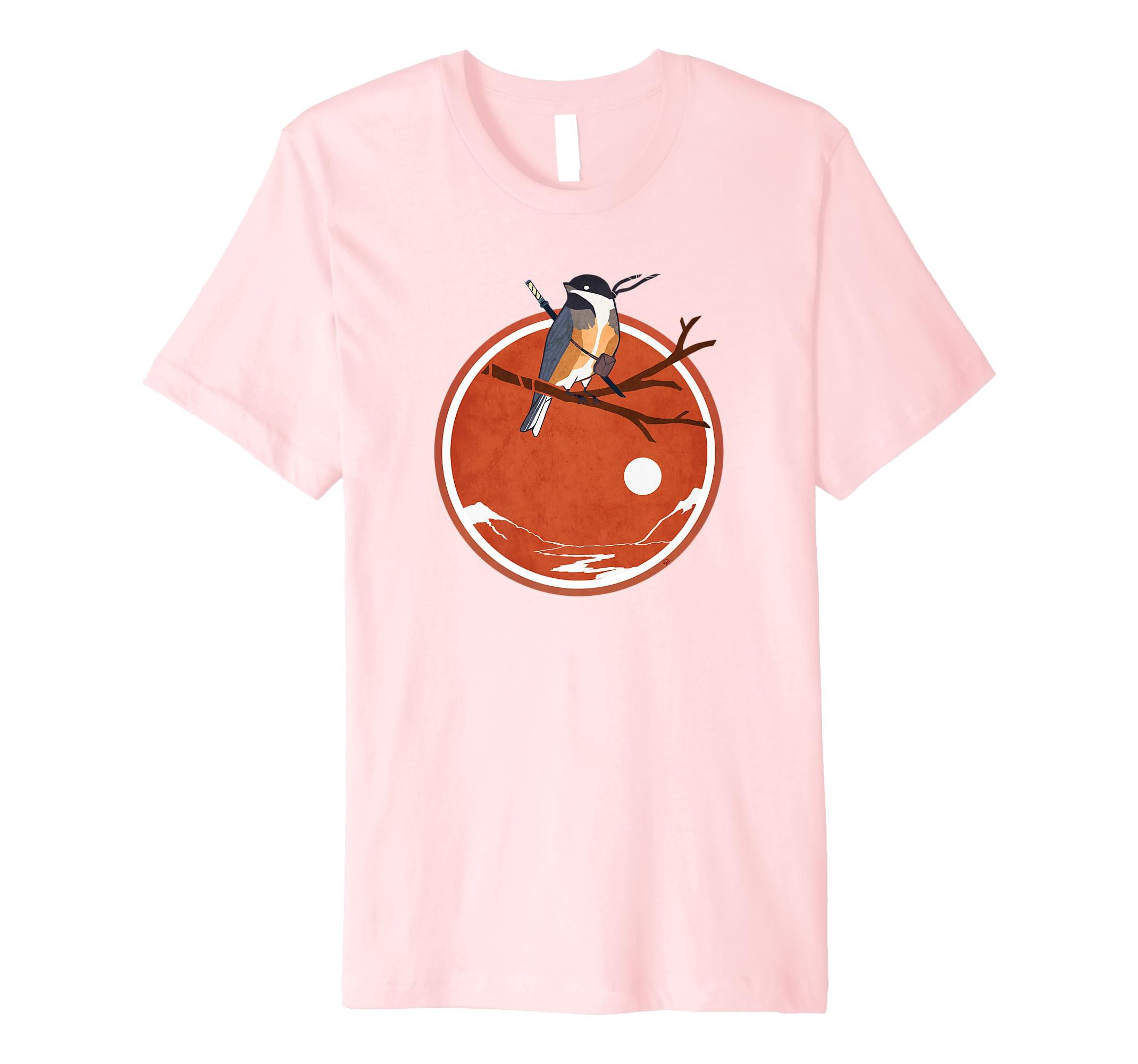 Amazon.com: Ninja Chickadee Tee Ninjutsu: Clothing