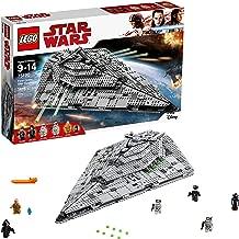 LEGO Star Wars Episode VIII First Order Star Destroyer 75190 Building Kit (1416 Piece)