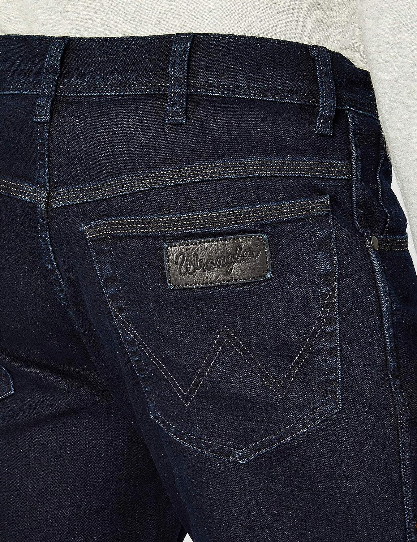 Wrangler Texas Stretch Black Back Jeans Homme Bleu (Dark Navy)