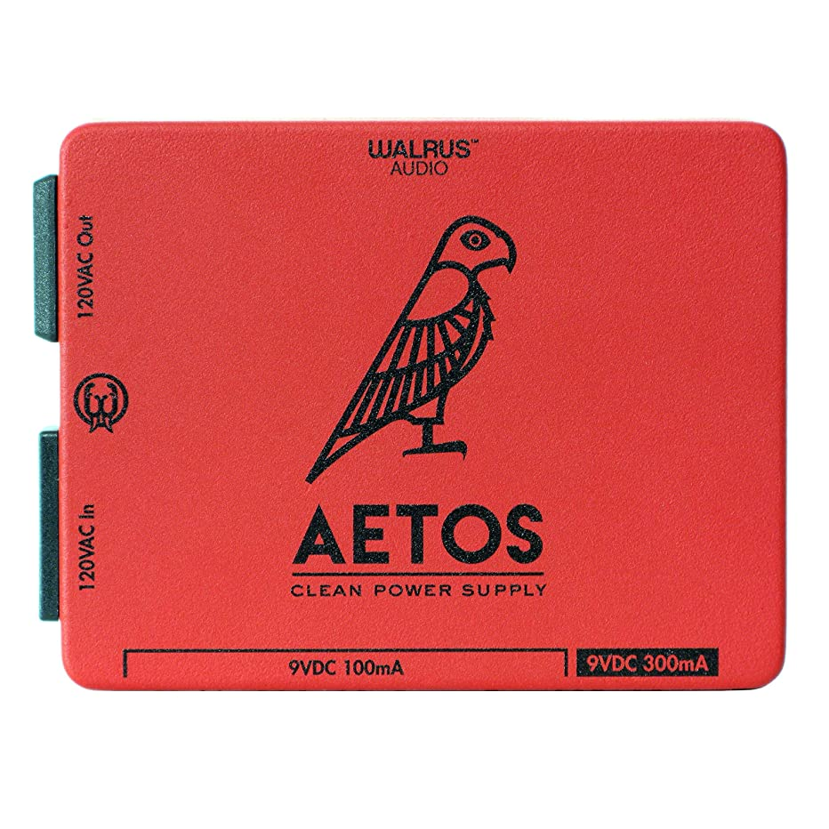 Walrus Audio Aetos 8 Output 120 Volt Power Supply, Limited Edition Red