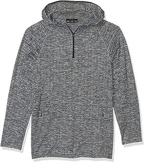 Peak Velocity Amazon Brand Men's Knit Jaquard Pullover, Black, X-Large