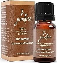 7 Jardins Essential Oil 100% Pure Therapeutic, Cinnamomum Zeylanicum, 0.33 Ounce
