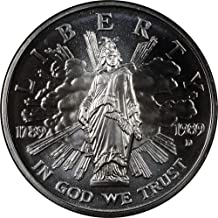 1989 D Congressional Commemorative BU Silver Dollar $1 Brilliant Uncirculated US Mint