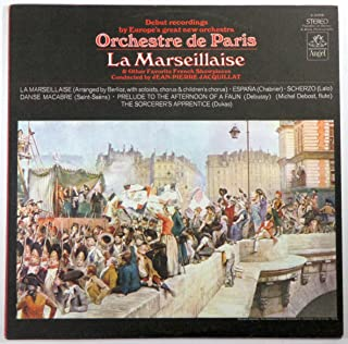 Orchestre de Paris: 'La Marseillaise', Chabrier, Debussy, Pierne, Dukas, Hahn, Faure, Saint-Saens