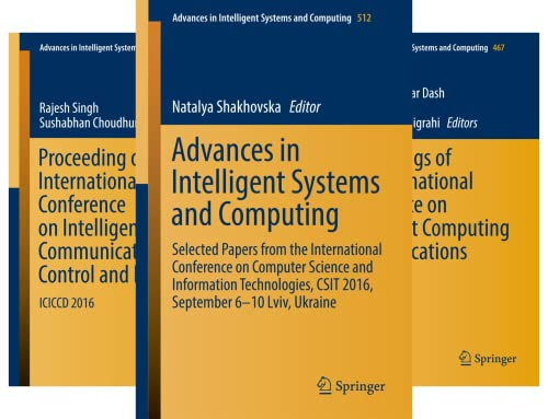 Advances in Intelligent Systems and Computing (51-100) (50 Book Series)