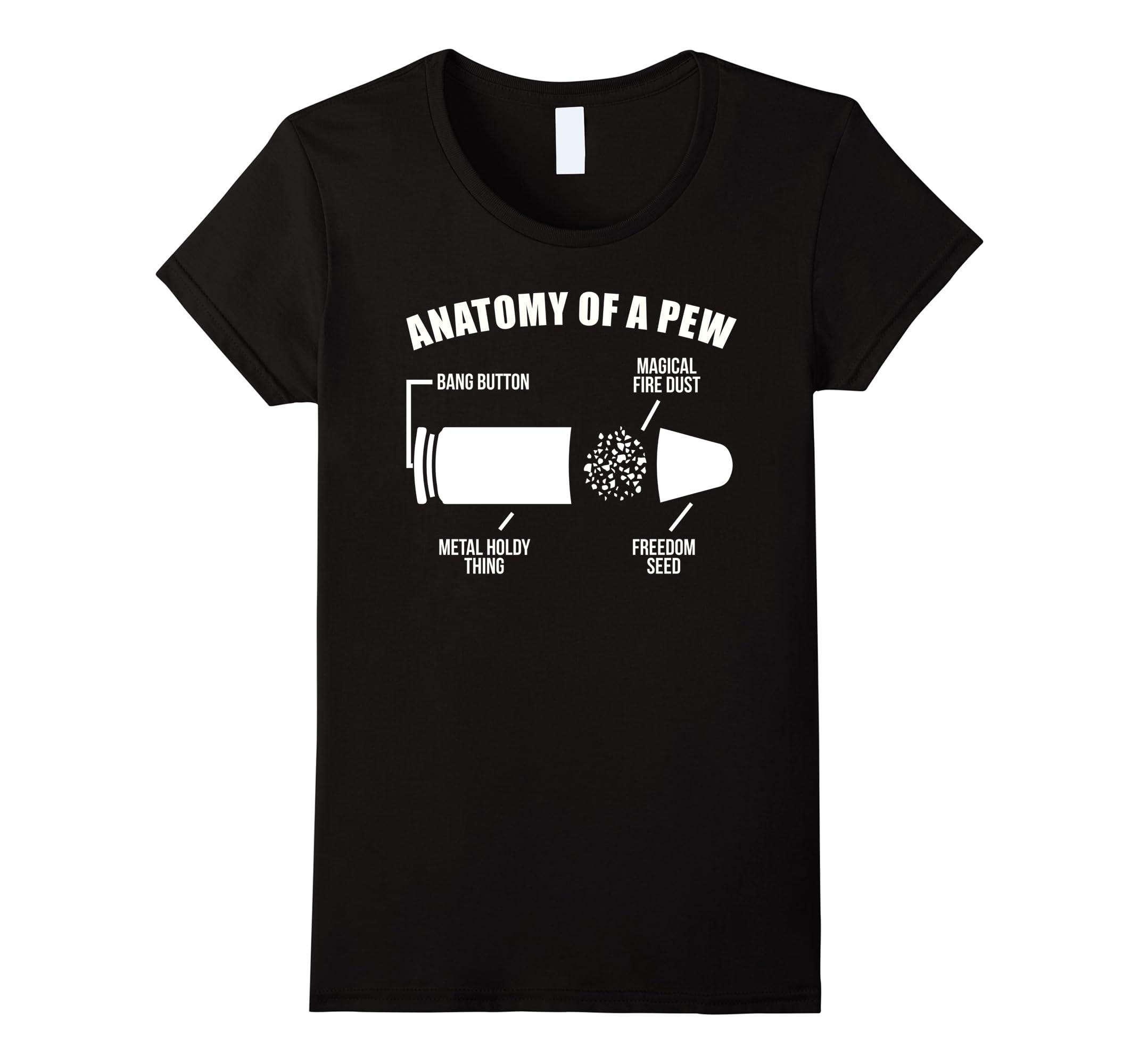 Anatomy Of A Pew T Shirt-Newstyleth