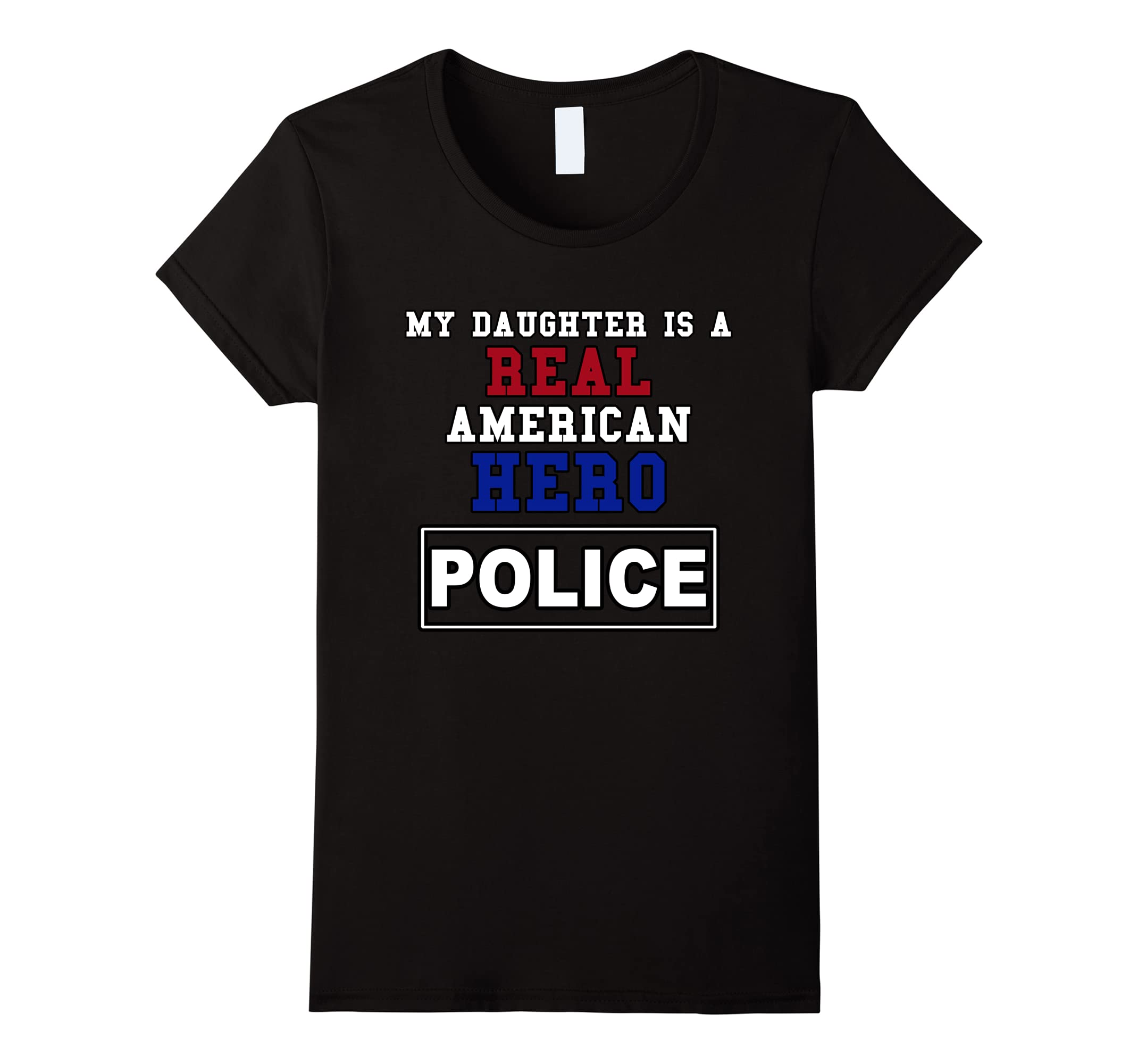Daughter American POLICE Proud Parent-Tovacu