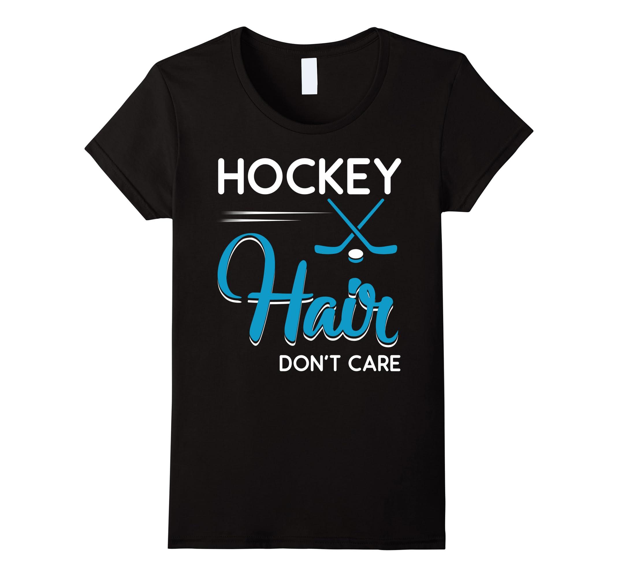 Funny Hockey Hair Dont Shirts-Samdetee