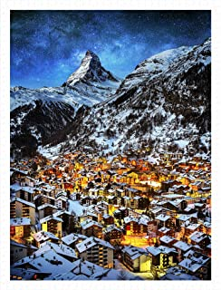 Pintoo - H2066 - Light of Zermatt, Switzerland - 1200 Piece Plastic Puzzle