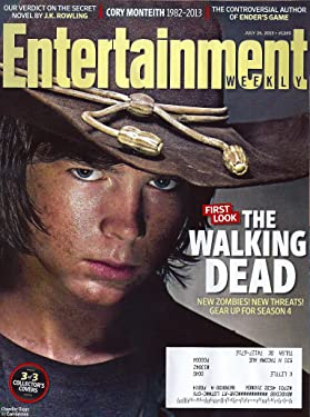 Chandler Riggs, The Walking Dead, Cory Monteith, J.K. Rowling, Ender's Game - July 26, 2013 Entertainment Weekly Magazine #1269 [74 Pages]