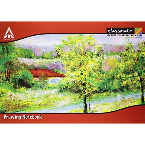 Classmate Drawing Book - A4, Soft Cover - Pack of 12
