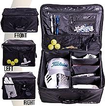 ذخیره سازی گلف تنه گلف Athletico - قفسه گلف اتومبیل برای ذخیره لوازم گلف | پیچ خورده هنگامی که در استفاده نمی شود