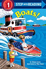 Boats (Step into Reading) Paperback