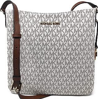 Jet Set Travel Large Messenger Crossbody Shoulder Bag Vanilla Signature