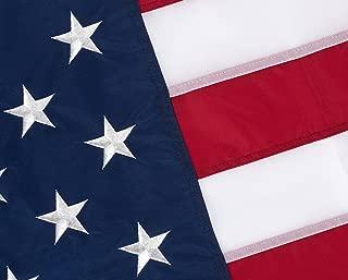 us flag and rocket