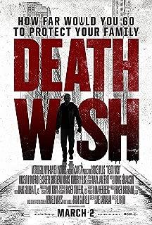 Death Wish Movie Poster Limited Print Photo Bruce Willis Elisabeth Shue Size 27x40 #1