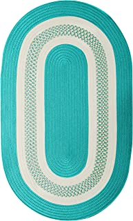 Colonial Mills Crescent NT52R084X108 Rugs, 7' x 9', Teal Green