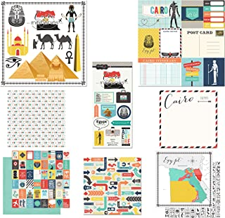 Scrapbook Customs Themed Paper and Stickers Scrapbook Kit, Cairo City Memories