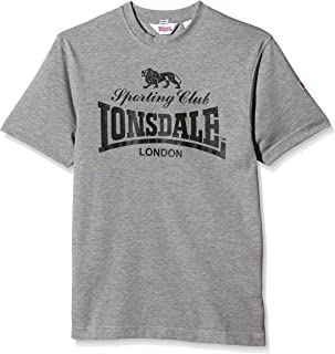 London T-Shirt Sporting Club - Camiseta deportiva con mangas cortas para hombre