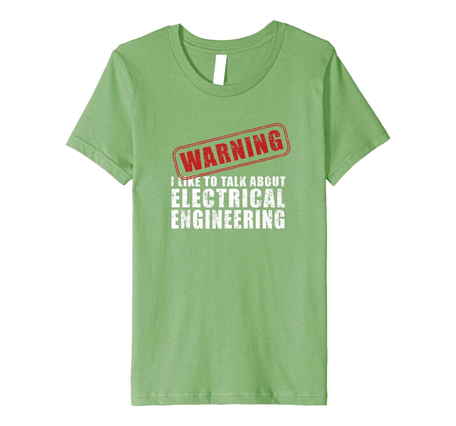 Warning I Like to Talk About Electrical Engineering T-Shirt