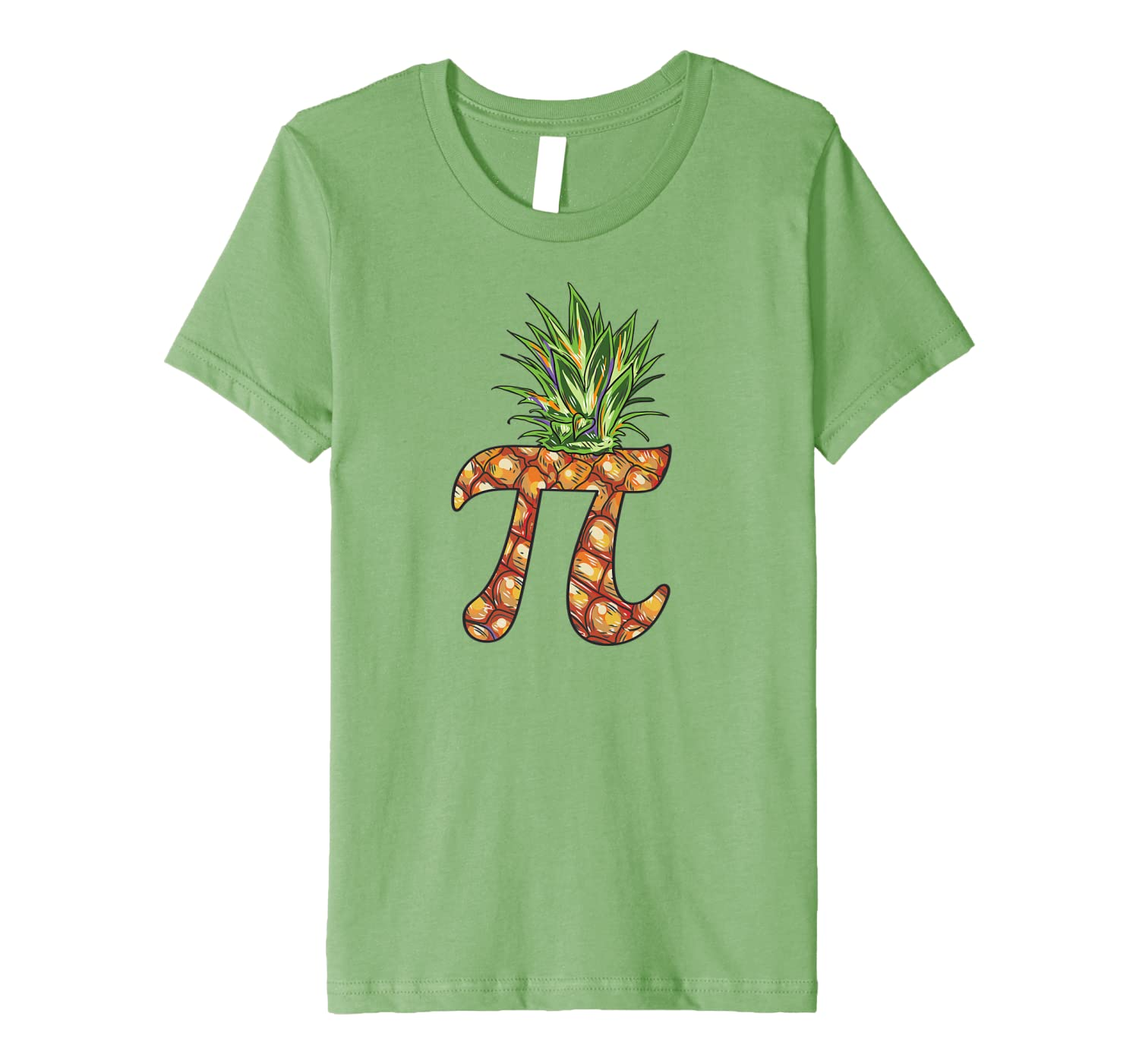 Pi Day Shirt Pi Pineapple Funny Math Pi Day Premium T-Shirt-Awarplus