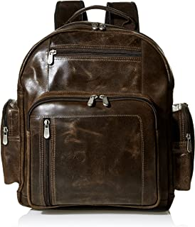 Piel Leather Vintage Travel Backpack, Brown