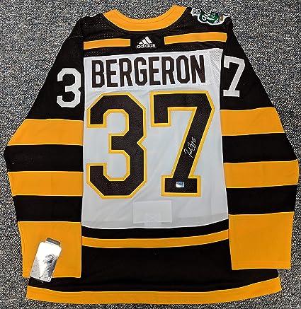 Patrice Bergeron Boston Bruins Signed Autographed 2019 Winter ...