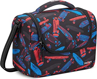 Delsey Paris Back to School 2020 Insulated Lunch Bag Black