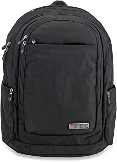 ECBC Javelin - Backpack Computer Bag - Black (B7102-10) Daypack for Laptops, MacBooks & Devices Up to 16.5