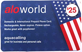 $25 » 410 Minutes of U.S. Domestic Calling & Lowest International Calling Rates, Phone Card Never Expires, No Payphone Fee.