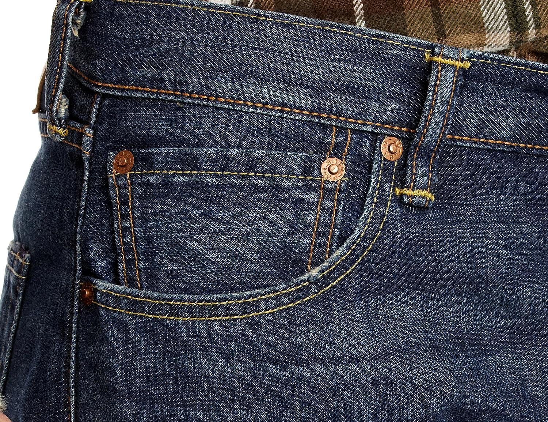 Levi's Men's 501 Original_fit' Jeans Blue Amped