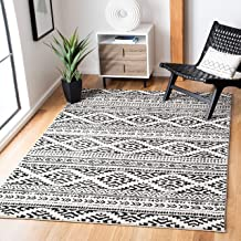 Amazon Com Black And White Rugs