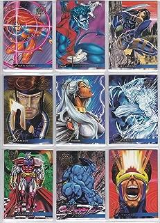 1995 Marvel Flair Annual Base Set of 150 Cards NM/M X-Men, Spider-Man