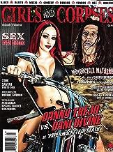 GIRLS AND CORPSES Magazine WINTER 2015 Volume 9, SEX WITH BIKERS, ROBERT LaSARDO, RUSTY COONES