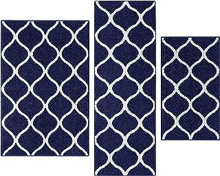 blue indoor rug