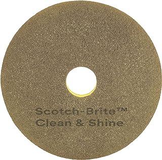 3M Scotch-Brite Clean & Shine Lot de 5 tampons de nettoyage pour machine 480 mm