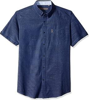 Ben Sherman Men's Ss Horizontal Slub Shirt